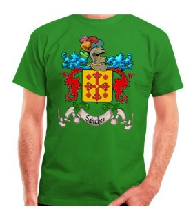 T-Shirt Personalizada Escudo Heráldico 1 Apelido