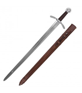 Espada dos Cruzados, com bainha
