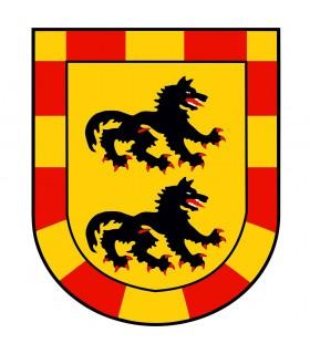 Estandarte Medieval Dragão (120x100 cms.)