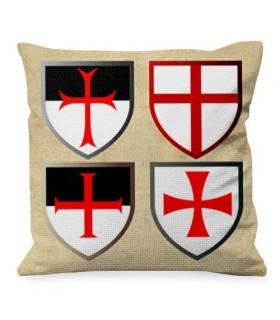 Almofada com Cruzes Templarias