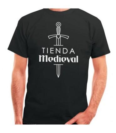 T-shirt Preta de Loja-Medieval