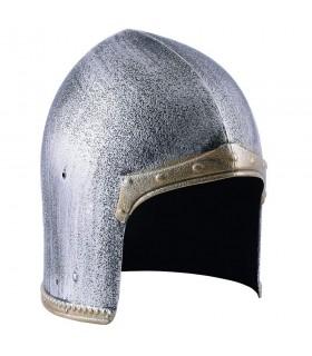 Capacete Sallet Cavaleiro Medieval para crianças