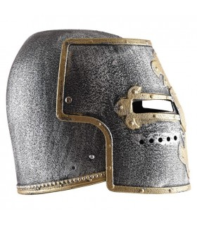 Capacete de Cavaleiro Medieval para crianças