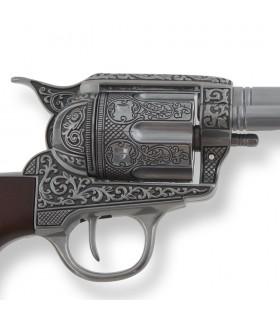 Revólver Colt 45 PeaceMaker cano longo, 31,5 cms.