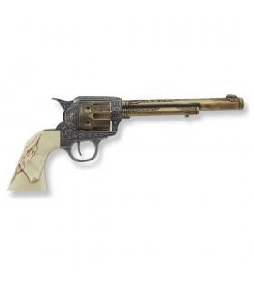 Revólver Colt 45 PeaceMaker longo apertos búfalo, 27 cms.