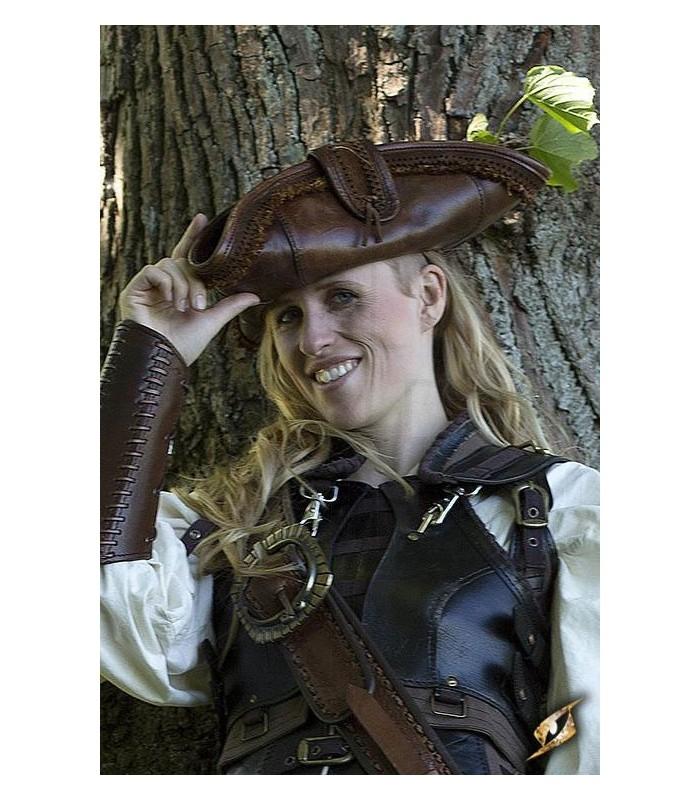 5ba901c464797 Chapéu de pirata. Chapéus-Luvas - Acessórios. Loja Medieval