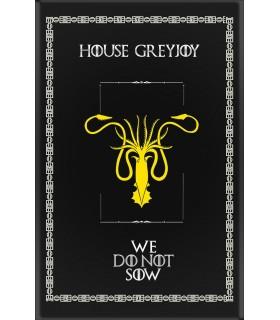 Estandarte Jogo de Tronos House GreyJoy (75x115 cms.)