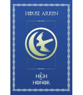 Estandarte Jogo de Tronos House Arryn (75x115 cms.)