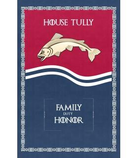 Estandarte Jogo de Tronos House Tully (75x115 cms.)