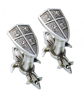 Expositores escudos de Castela e Leão