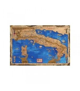 Mapa medieval da Itália