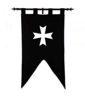 Estandarte Cavaleiros Hospitalários (105 x 55 cms.)