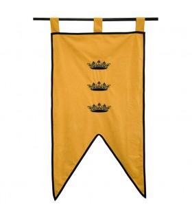 Estandarte do Rei Artur (105 x 55 cms.)