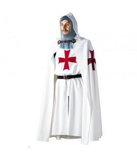 Camada Templária, com uma cruz bordada