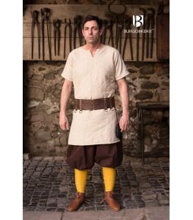 Calças medievais Kievan, marrom
