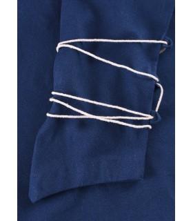 Blusa medieval Aila, azul