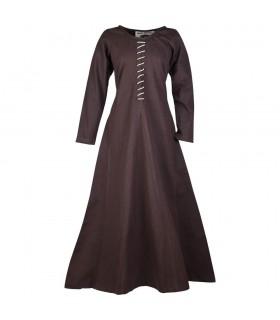 Vestido medieval longo Ava