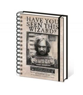 Bloco de notas Sirius Black, Harry Potter