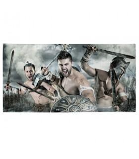 Toalha de Banho luta dos Espartanos (vários tamanhos)