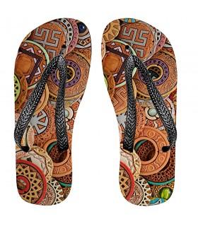 Sandálias verão com Runas Celtas