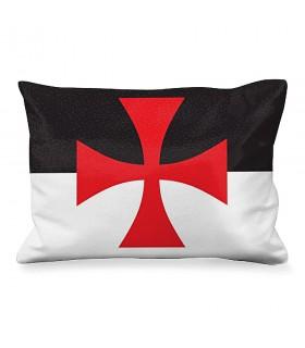 Almofada Retangular Cruz de Malta dos Templários