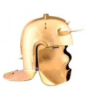 Capacete Infantaria Auxiliar von Gravert, bronze