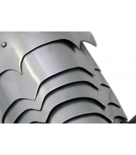 Ombreiras placas metálicas, 1,6 mm.