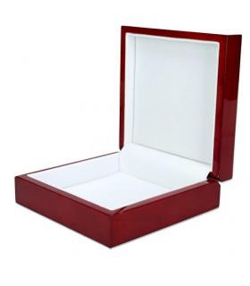 Caixa de joias com símbolos maçônicos (13,8x13,8 cm)
