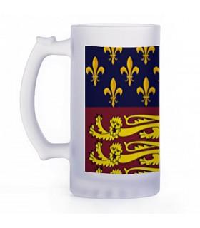 Jarro de Cerveja Medieval, vidro translúcido