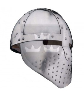 Capacete Medieval Spangenhelm, s. XII-XIII
