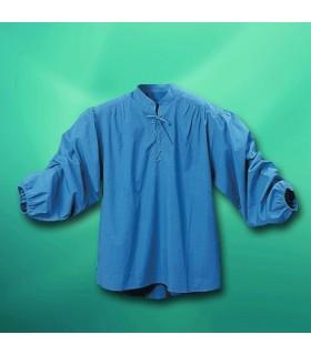 Camisa Corsário com gola alta