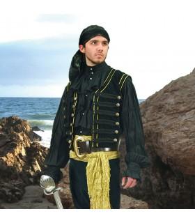Veste de Pirata em veludo