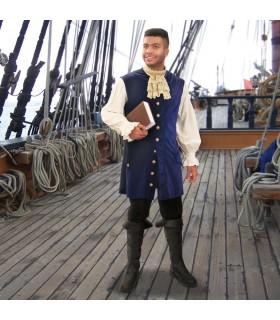 Colete pirata Costa dos Bárbaros