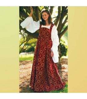 Vestido medieval Flor de Lys