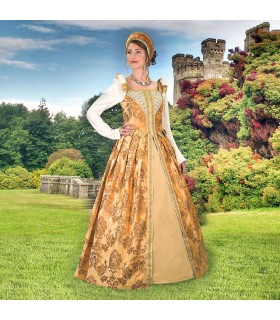 Vestido do Renascimento Anjou