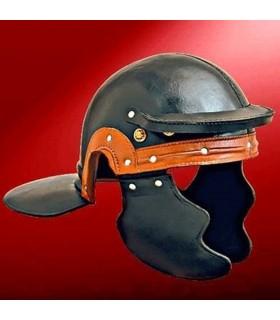Capacete em couro de Soldado Romano