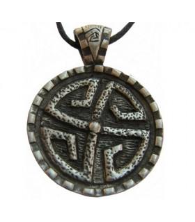 Pingente escudo Pedra Celta