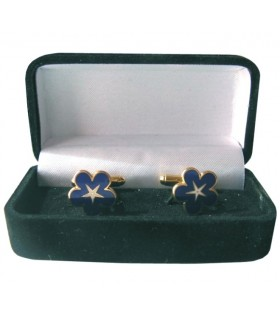 Gêmeos Maçônicos Miosota com Pentagrama com o joalheiro
