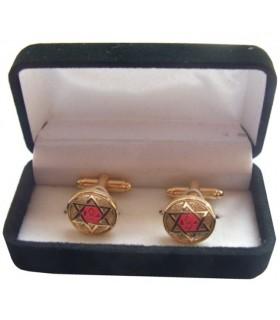 Gêmeos Maçônicos Cruz mestre Escocês de Santo André com o joalheiro