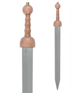 Espada Romana Gladius Pompéia com bainha, século III a.C.