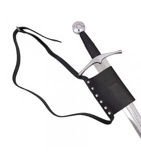 Cinto simples com tahalí para espada
