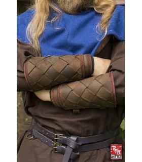 Pulseiras Vikings de couro