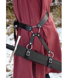 Cinto largo para espada medieval (160 cms.)