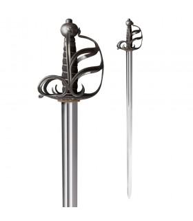 Espada Mortuária Inglesa Funcional, século XVII