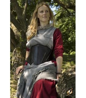 Espartilho medieval couro, um Elfo da Noite