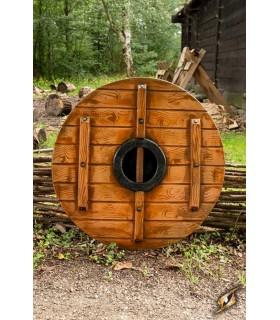 Escudo viking Iarla Huginn e Muninn