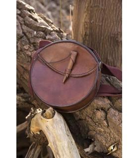 Saco medieval redonda com alça