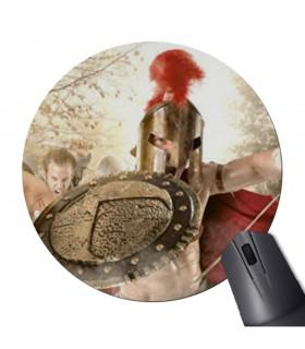 Tapete de Rato Redonda luta Espartanos