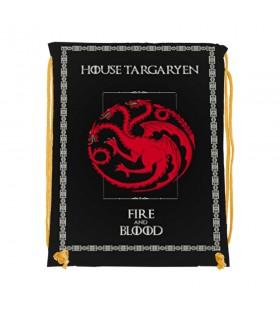 Mochila de cordas Targaryen de game of Thrones (34x42 cms.)