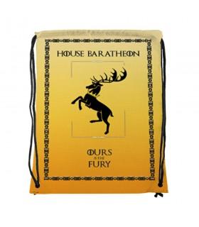 Mochila de cordas House Baratheon de game of Thrones (34x42 cms.)
